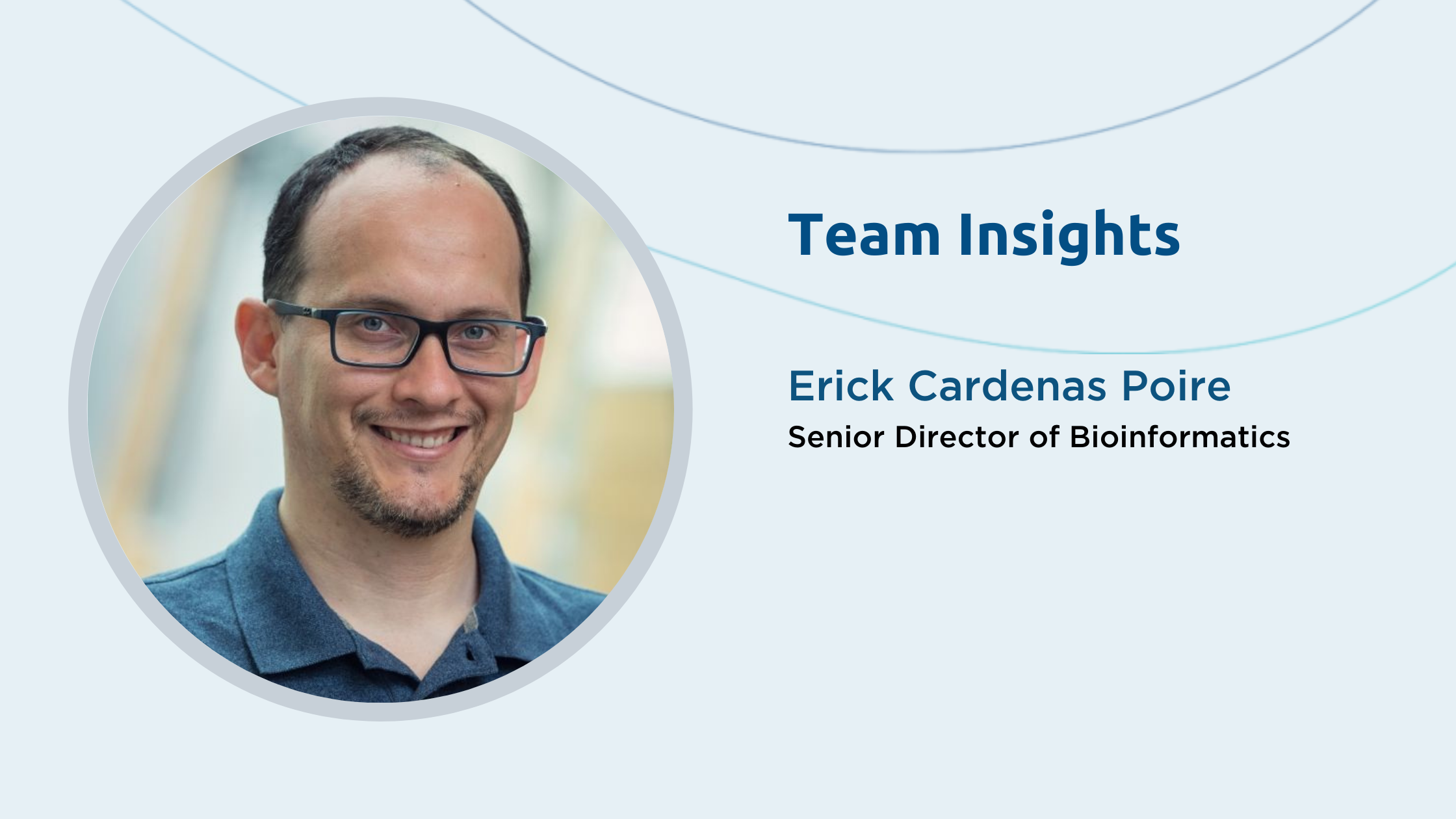 Team Insights: Erick Cardenas Poire