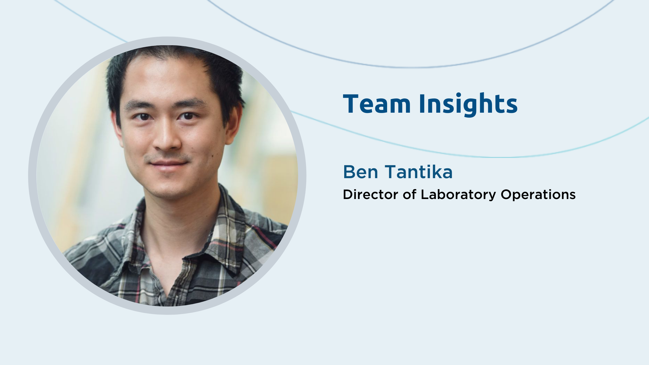 Team Insights: Ben Tantika